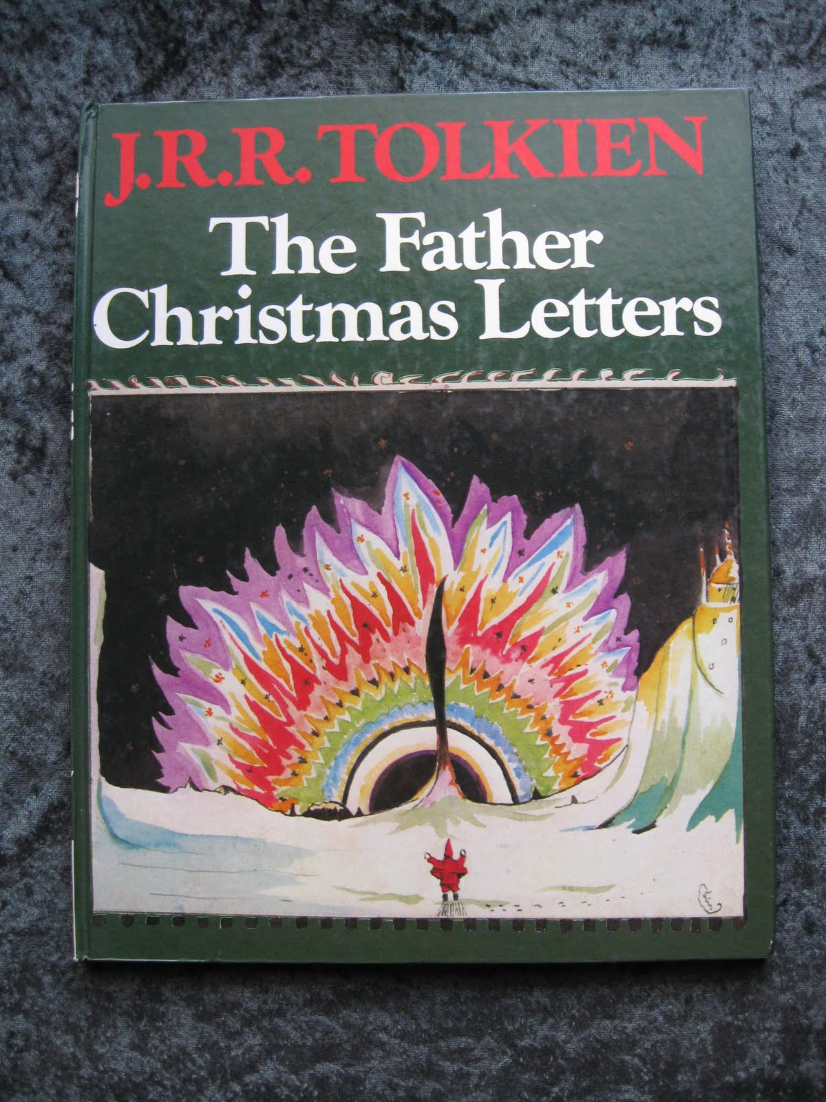 Christmas reading letters from father christmas by jrr tolkien tolkien cover spiritdancerdesigns Choice Image