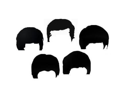 JFK Beatles moptops'