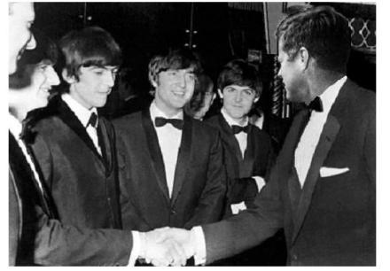 Kennedy meets the Beatles