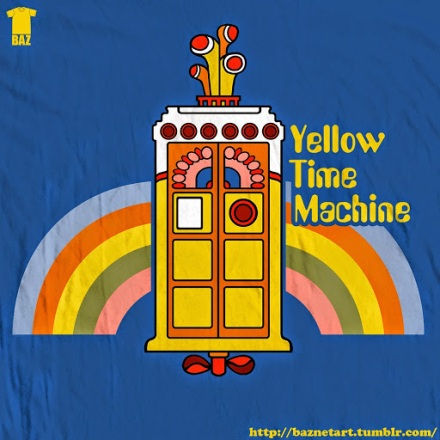 yellow-tardis